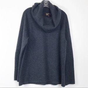 J. McLaughlin Cashmere Cowlneck Sweater L